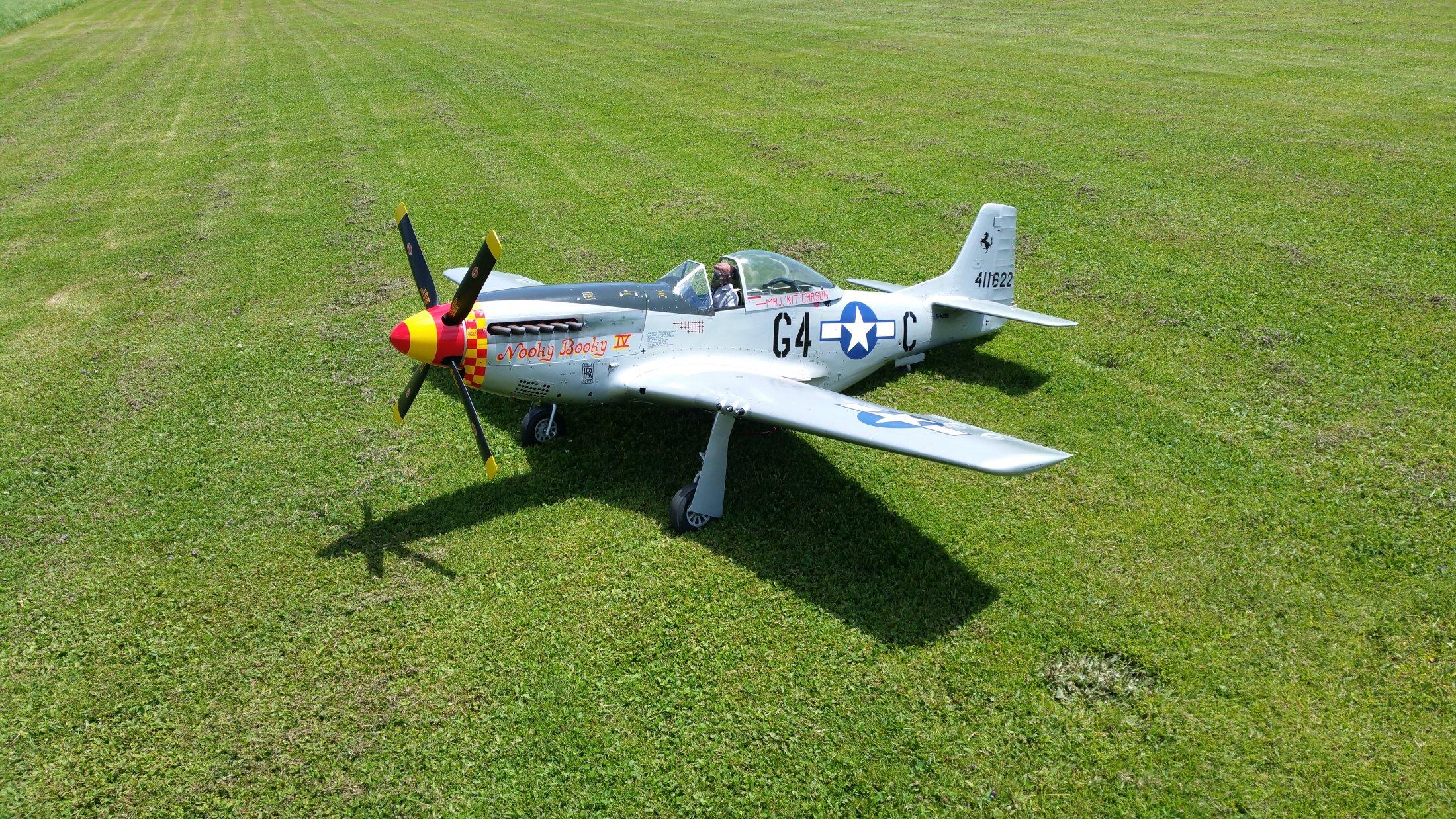 P 51 D Mustang