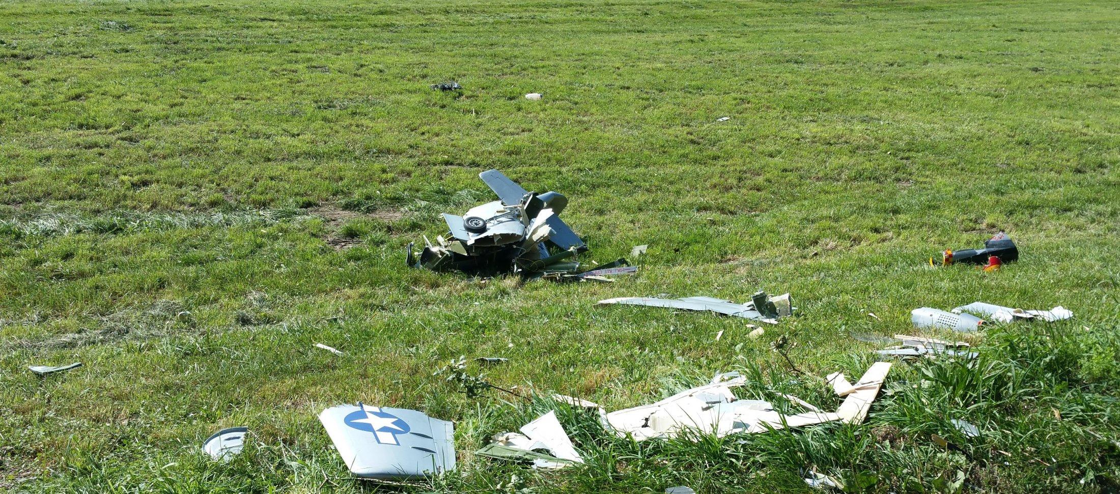 Mustang Crash